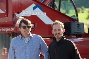 Günter Herges und Meister Christoph Althoff leiten das Unternehmen
