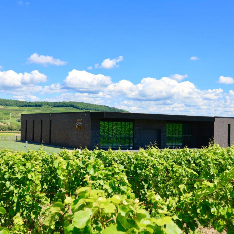 Harmonische Lösung und Moderne Dachdeckung beim Weingut Ludger Veit